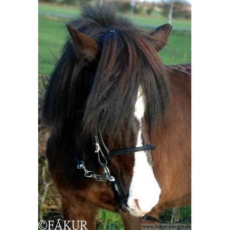 engl. Reithalfter Nordic Horse schmal, weich unterlegt