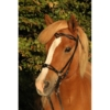 Kopfstück Nordic Horse 1 schwarz mit Ausschnitten